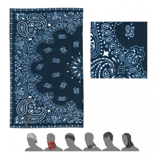 SENSOR TUBE ORNAMENT šátek multifunkční modrá