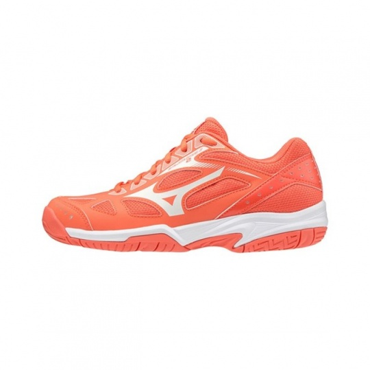 MIZUNO CYCLONE SPEED 2 JR / LivingCoral/SnowWht/Wht / 3