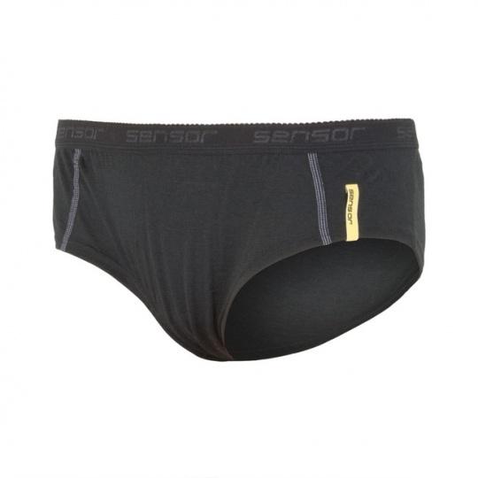 SENSOR MERINO ACTIVE dámské kalhotky černá