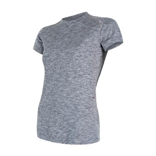 SENSOR MOTION dámské triko kr.rukáv šedá