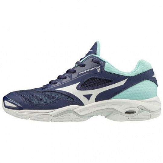MIZUNO WAVE PHANTOM 2 / Astral Aura / White / Blue Light /