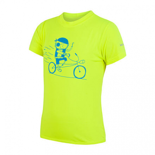 SENSOR COOLMAX FRESH PT PIRATE dětské triko kr.rukáv reflex žlutá Velikost: