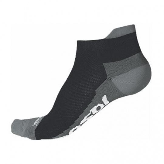 SENSOR PONOŽKY RACE COOLMAX INVISIBLE černá/šedá Velikost: