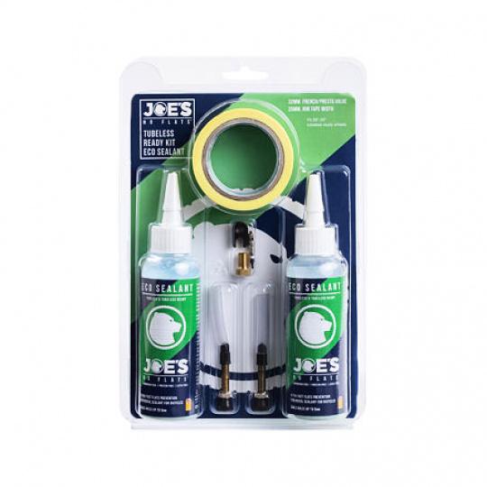 JOE´S bezdušový set Tubeless Ready kit Eco Sealant 48/21mm