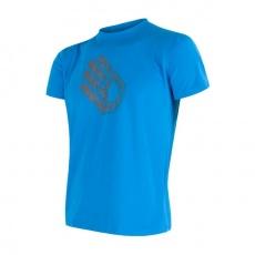 SENSOR COOLMAX FRESH PT HAND pánské triko kr.rukáv modrá Velikost: