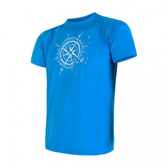 SENSOR COOLMAX FRESH PT COMPASS pánské triko kr.rukáv modrá Velikost:
