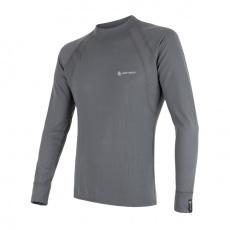 SENSOR DOUBLE FACE pánské triko dl.rukáv šedá Velikost: