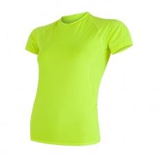SENSOR COOLMAX FRESH dámské triko kr.rukáv žlutá reflex