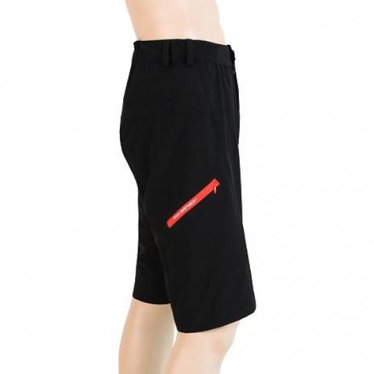 SENSOR CYKLO HELIUM LITE pánské kalhoty krátké volné černá Velikost: