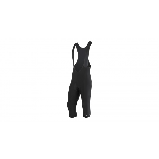 SENSOR CYKLO ENTRY pánské kalhoty se šlemi 3/4 černá