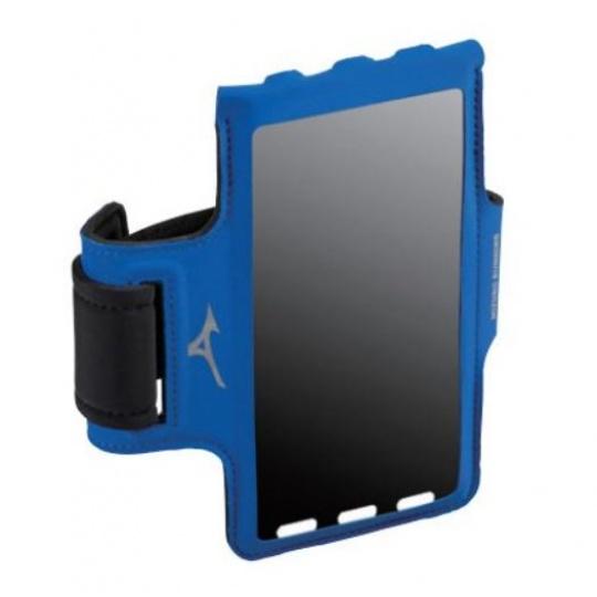 MIZUNO Running Phone Arm Band / Blue / one size