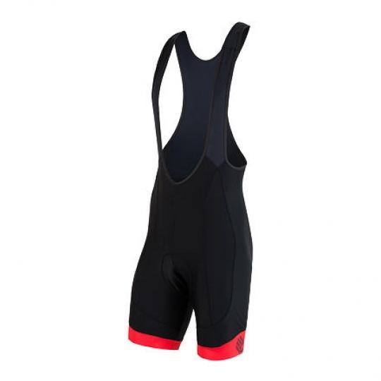 SENSOR CYKLO RACE pánské kalhoty krátké se šlemi černá/červená Velikost: