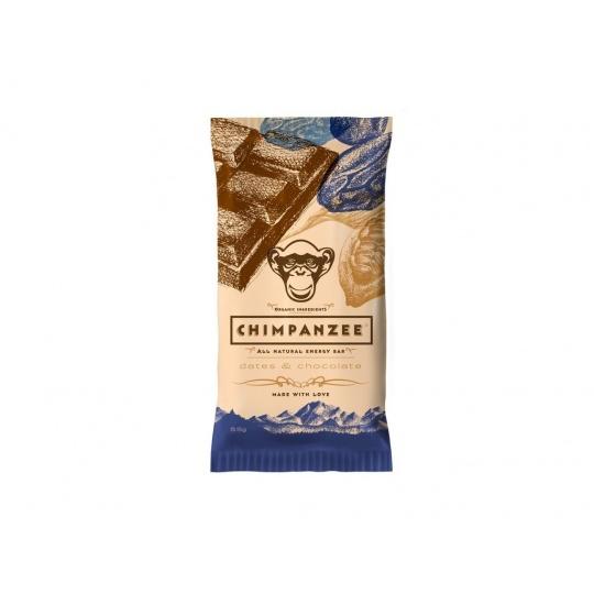 CHIMPANZEE  ENERGY BAR Dates - Chocolate 55g - SET 4+1 (5x55g)